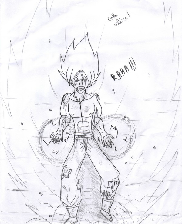 Supafan union gallery style 77 - Comment dessiner goku ...