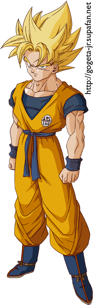 Comment dessiner sangoku super sayen - Sayen legendaire ...