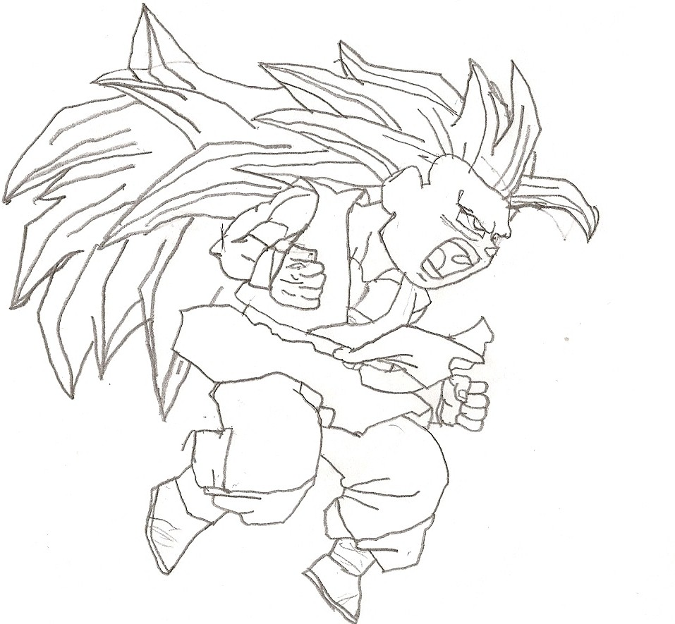 Supafan union gallery style 77 - Coloriage dragon ball gt ...