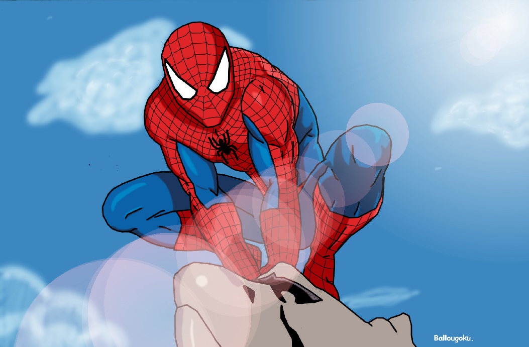 Supafan union gallery style 77 - Spiderman en dessin ...