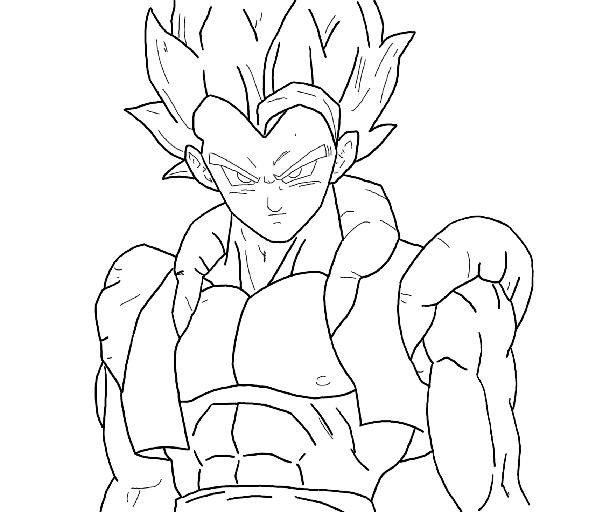Comment dessiner gogeta - Dessiner dragon ball z ...