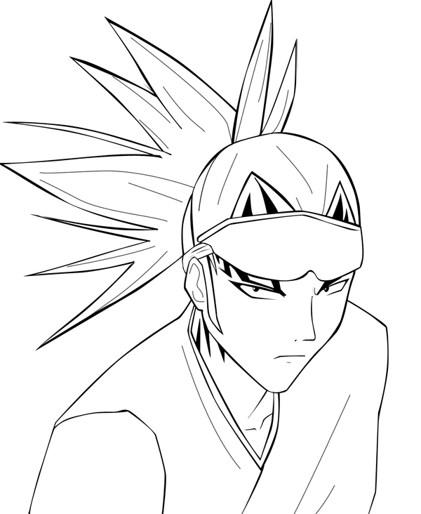 Supafan union gallery style 77 - Coloriage bleach ...