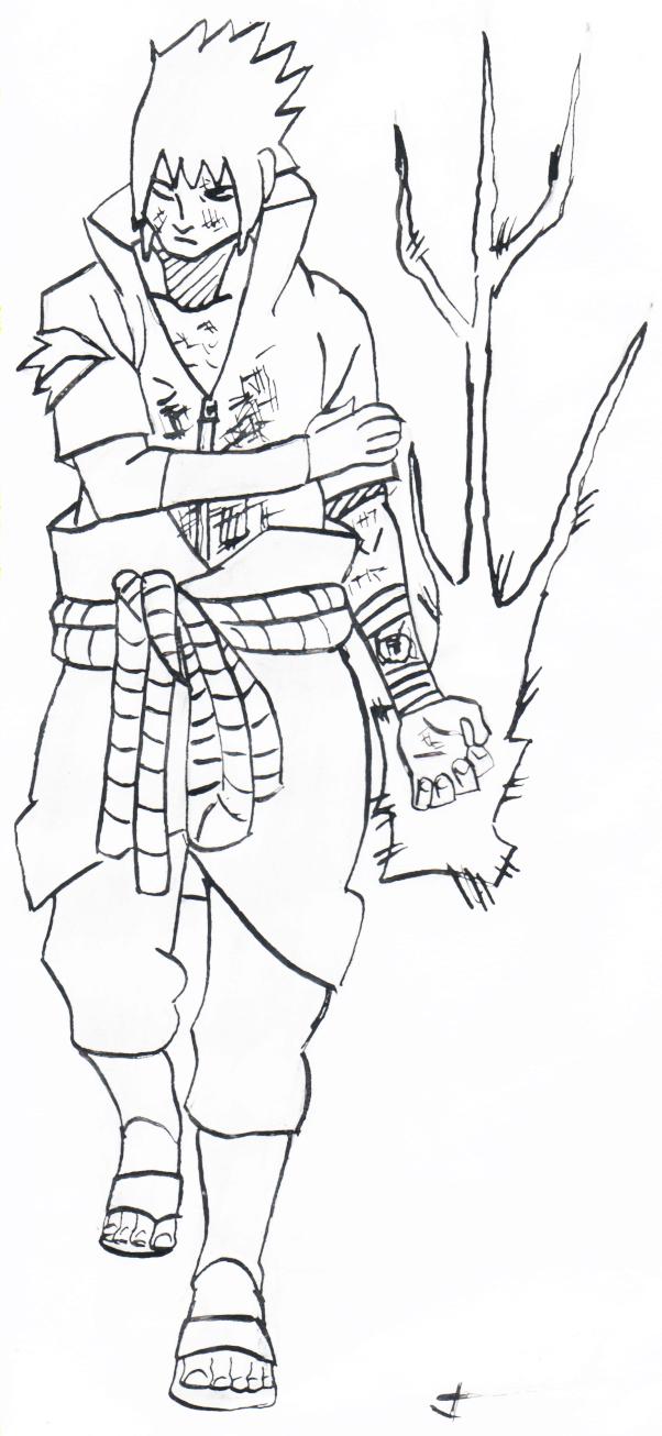 Supafan union gallery style 77 - Coloriage sasuke ...